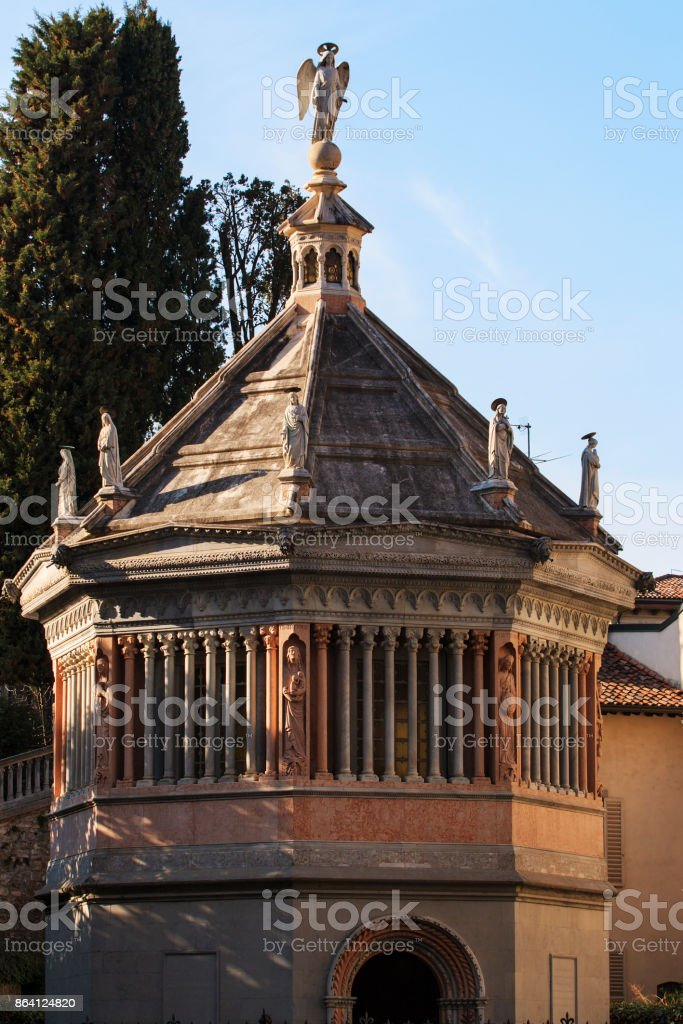 Bergamo alta royalty-free stock photo