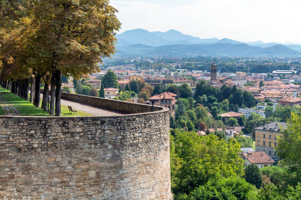 Bergamo, Italy stock photo