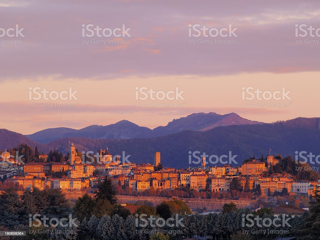 Bergamo, Lombardy, Italy stock photo