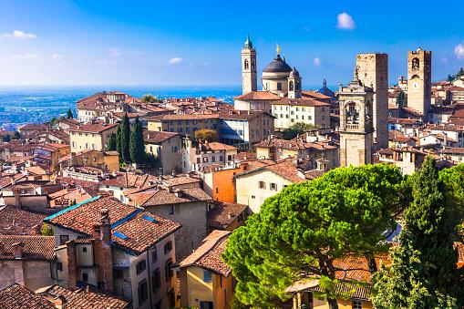 Bergamo,Lombardy,Italy.