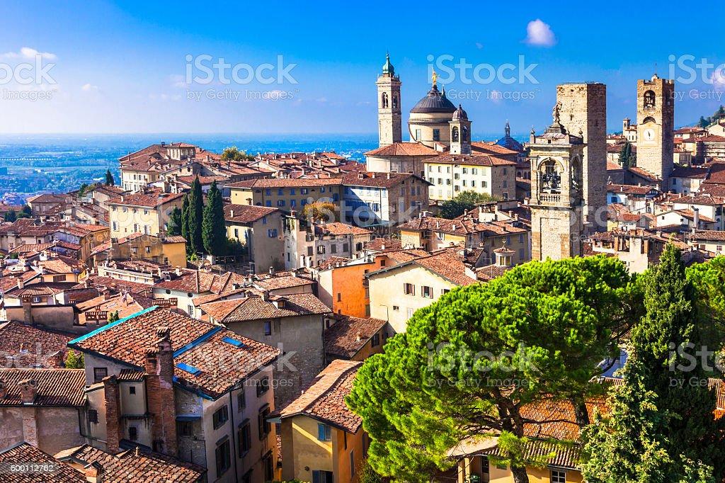 Bergamo, Italia, Lombardía. - foto de stock