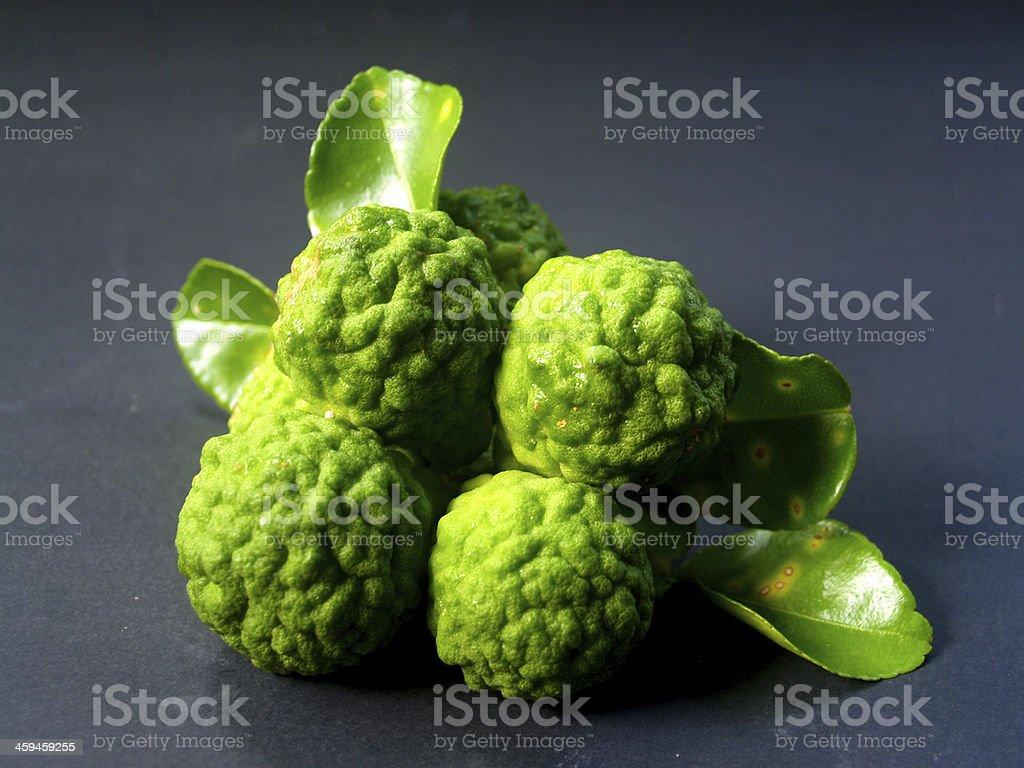 Bergamot Fruit Kaffir Lime royalty-free stock photo