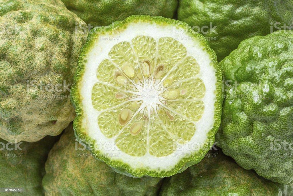 Bergamot fruit royalty-free stock photo