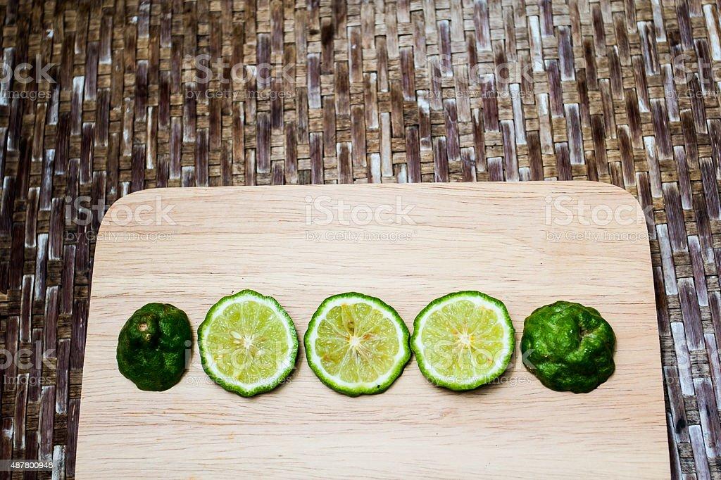 bergamot stock photo