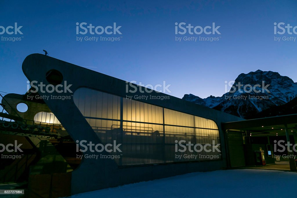 Bergbahnen stock photo