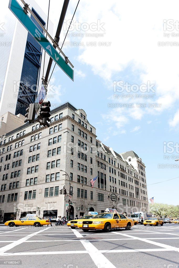 Bergdorf and Goodman, New York City royalty-free stock photo