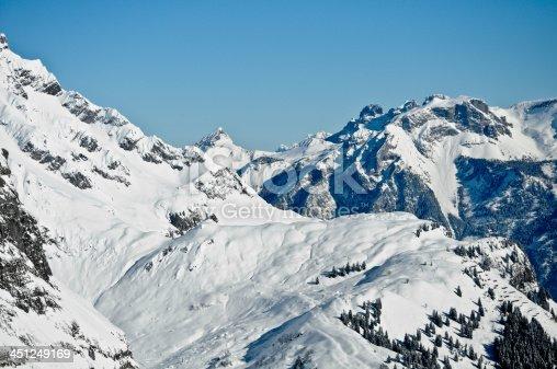 Berge mit Schnee (Glarus)