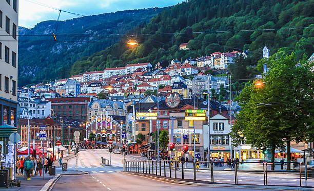 Bergen centre-ville - Photo