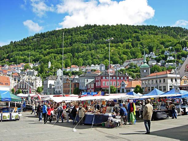 Bergen en Norvège - Photo
