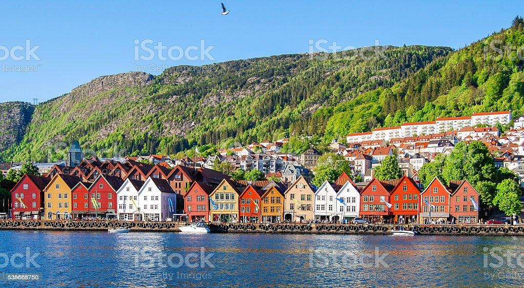 Bergen, Norwegen – Foto