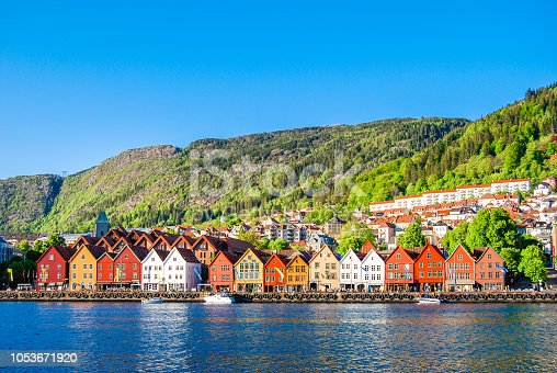 Bergen, Norway (summer)