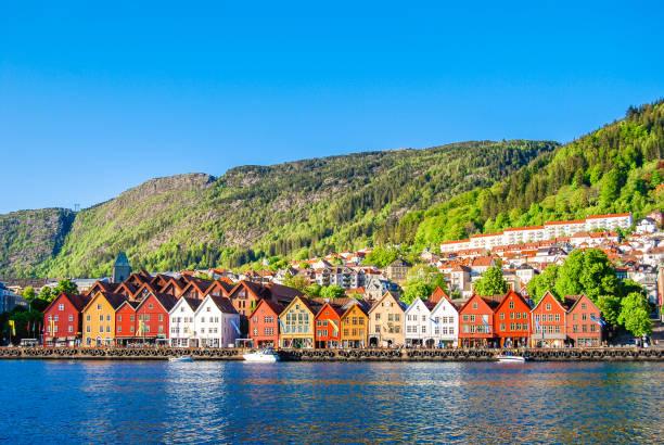 bergen - noruega fotografías e imágenes de stock