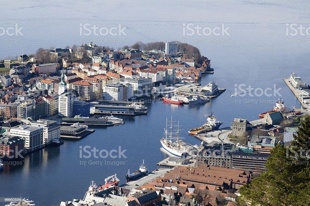 Bergen royalty-free stock photo