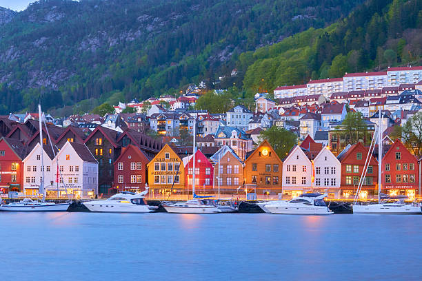 Bergen's port timber houses - Photo