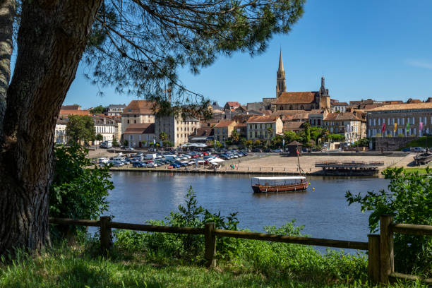 Bergerac - Dordogne - France stock photo