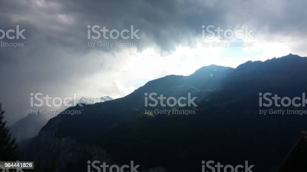 Foto de Mountain Panorama Na Suíça e mais fotos de stock de Allgau