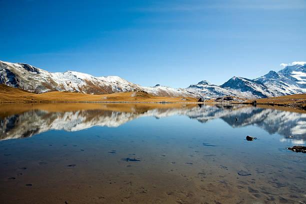 Bergsee stock photo