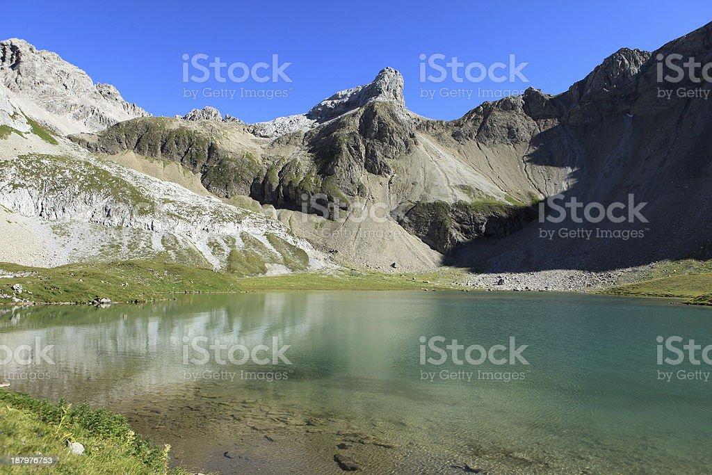 Bergsee royalty-free stock photo
