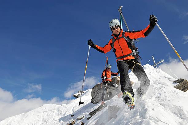 Bergsteiger in dirigidas Lage – Foto