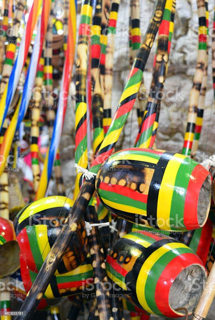 Berimbau-Afro-Instrumento musical brasileiro - foto de acervo