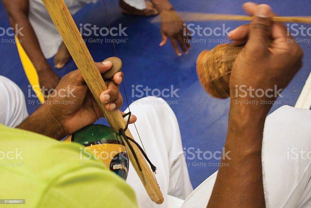 Berimbau na Capoeira - foto de acervo