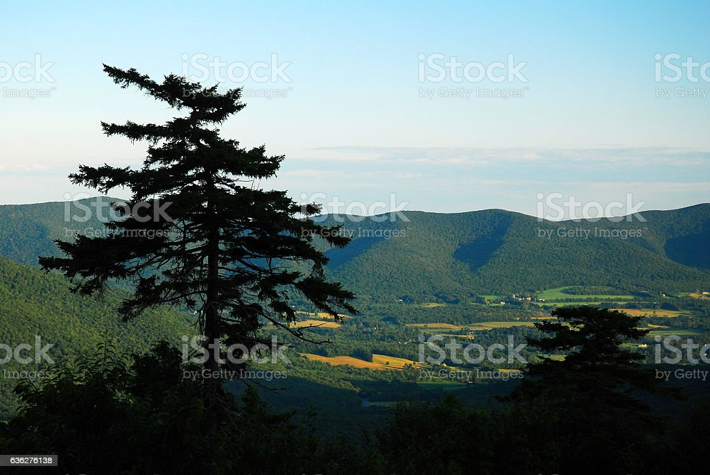 Berkshire Vista stock photo