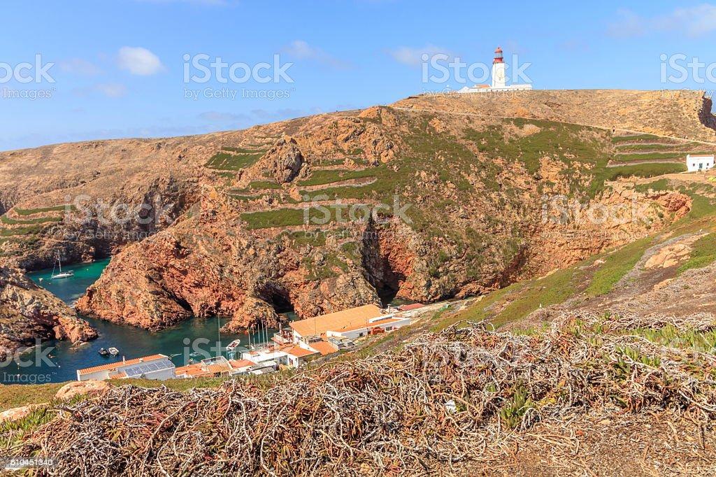 ilha das Berlengas stock photo