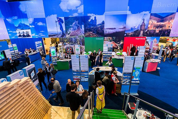 feria internacional de turismo berlín de 2016 - stand fotografías e imágenes de stock