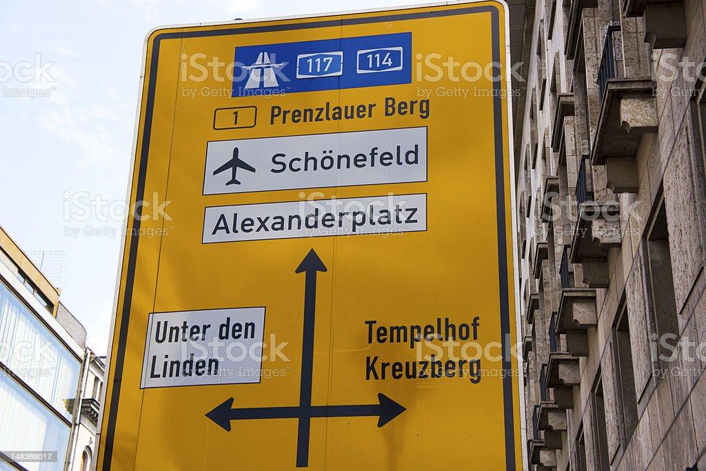 Berlin Airport stock photo