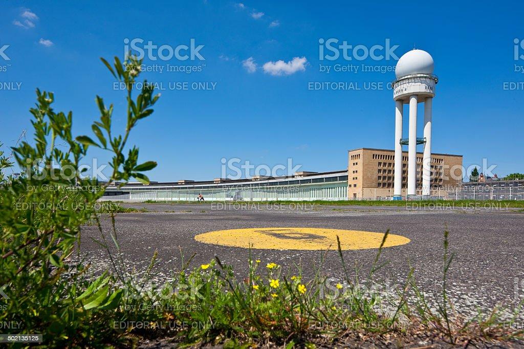 Berlin, Airport Tempelhof stock photo