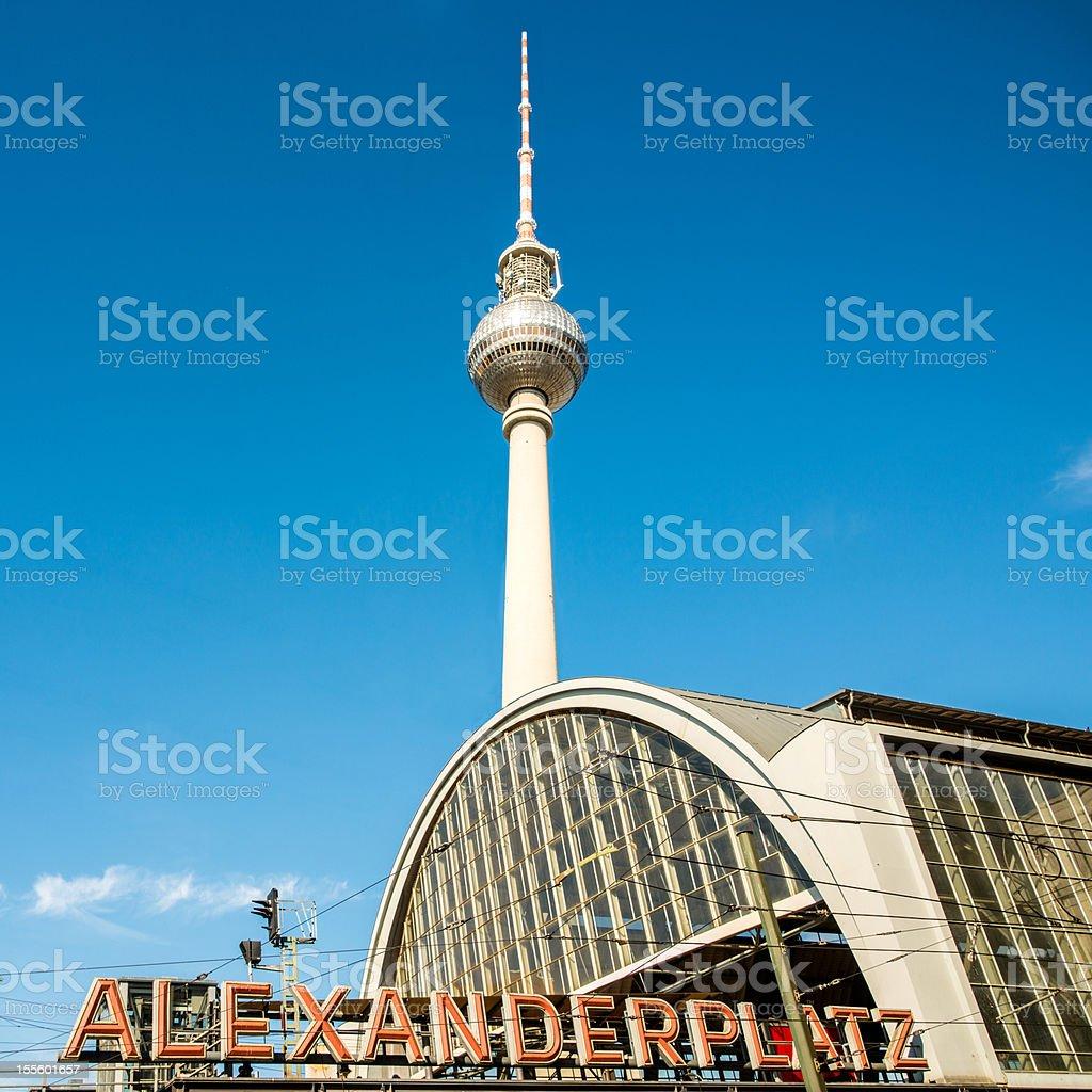 Berlin Alexanderplatz Germany royalty-free stock photo