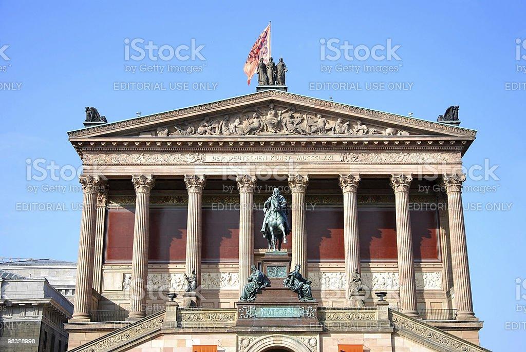 berlin alte nationalgalerie royalty-free stock photo