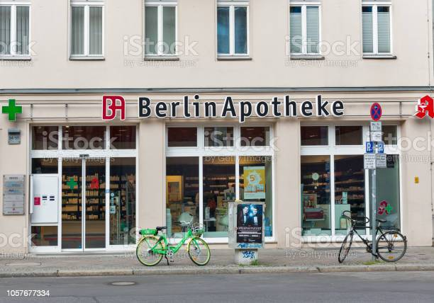 Berlin apotheke pharmacy facade in mitte district germany picture id1057677334?b=1&k=6&m=1057677334&s=612x612&h=3zqpqmcfytheddznvcfowitalqt9hjw31a7gf6y3e4o=