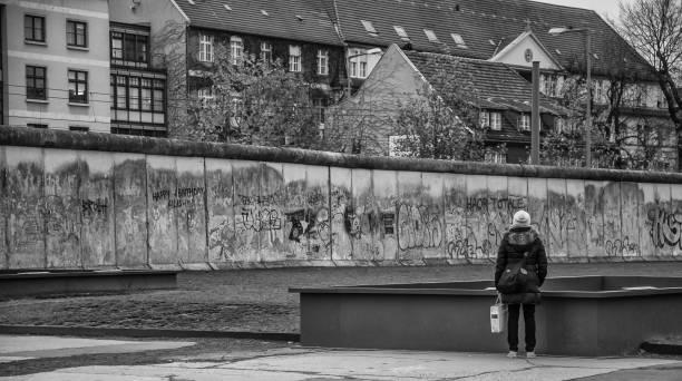 Berlin - Berlin Wall Memorial stock photo