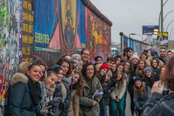 Berlin - Berlin Wall stock photo