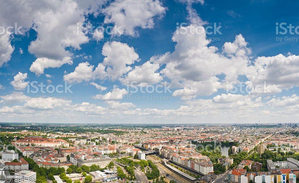 Berlin big sky Stadt – Foto