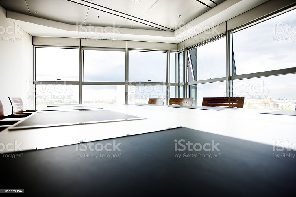 Berlin Boardroom royalty-free stock photo