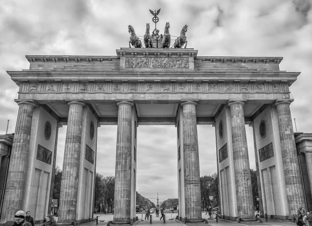 Berlin - Brandenburg Gate stock photo