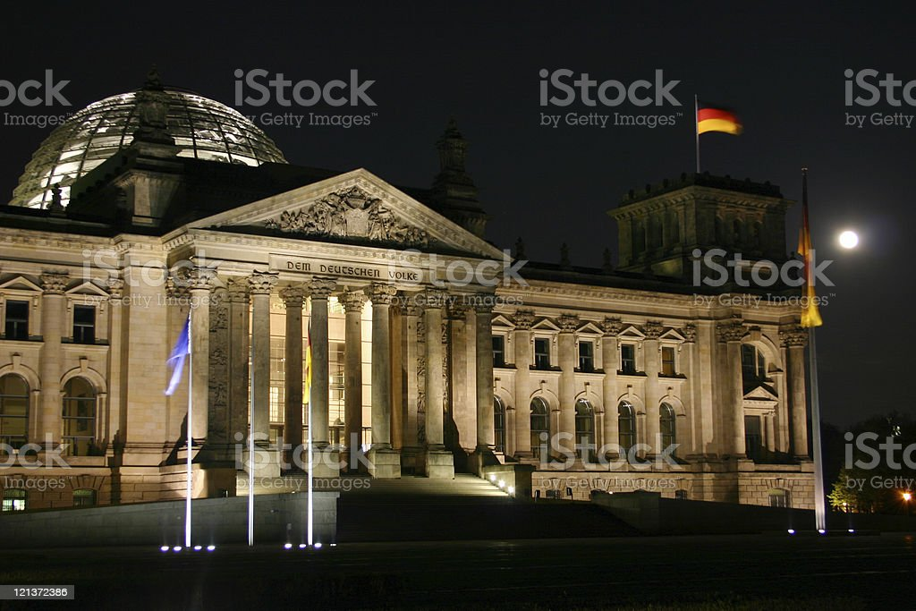 Berlin Bundestag royalty-free stock photo