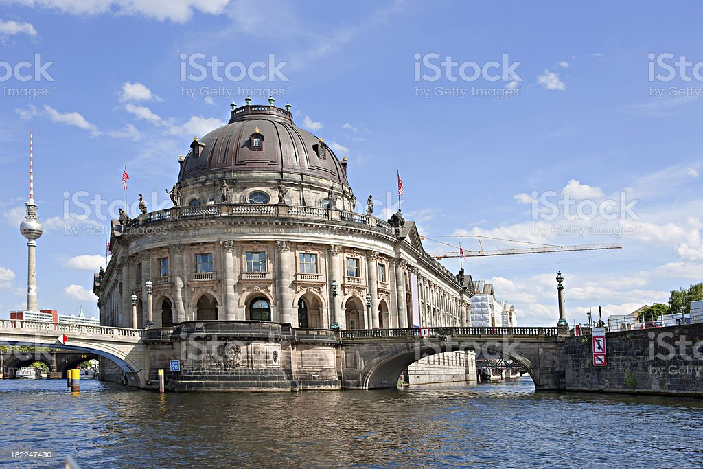 Berlin canals stock photo