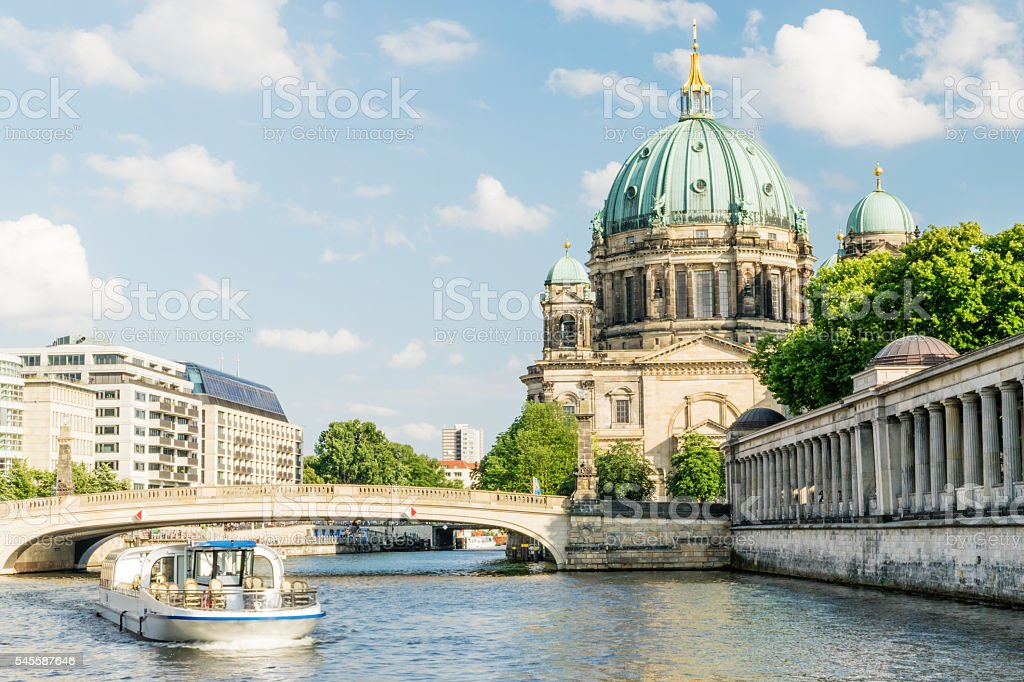 Berlin Cathedral at famous Museum Island, Germany – Foto