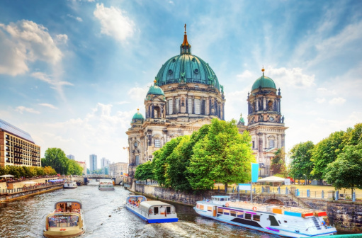 Berlin Cathedral. Berliner Dom. Germany