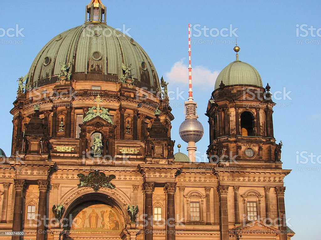 Berlin Cathedral - Berliner Dom royalty-free stock photo