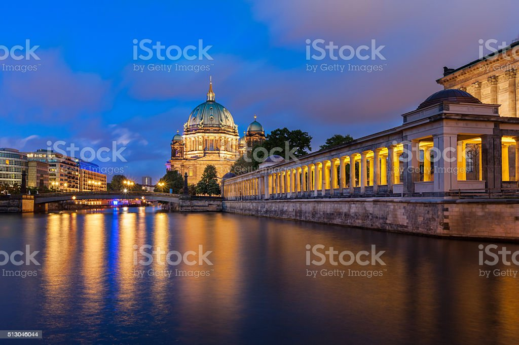 Berlin Cathedral Germany stock photo