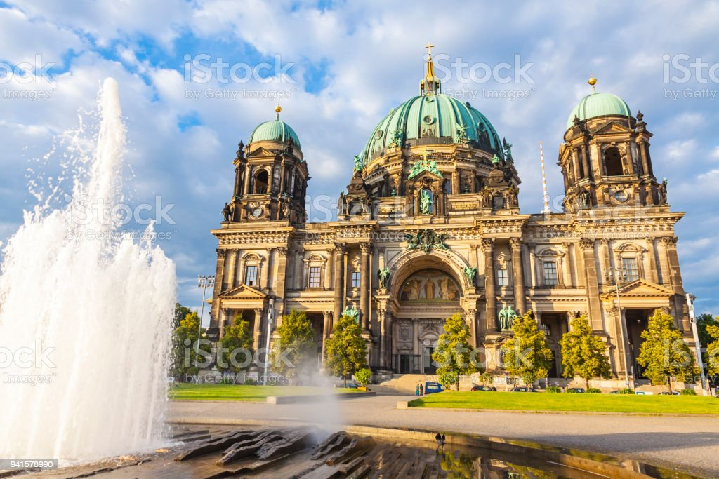 Berlin Cathedral (Berliner Dom) in Berlin, Germany stock photo
