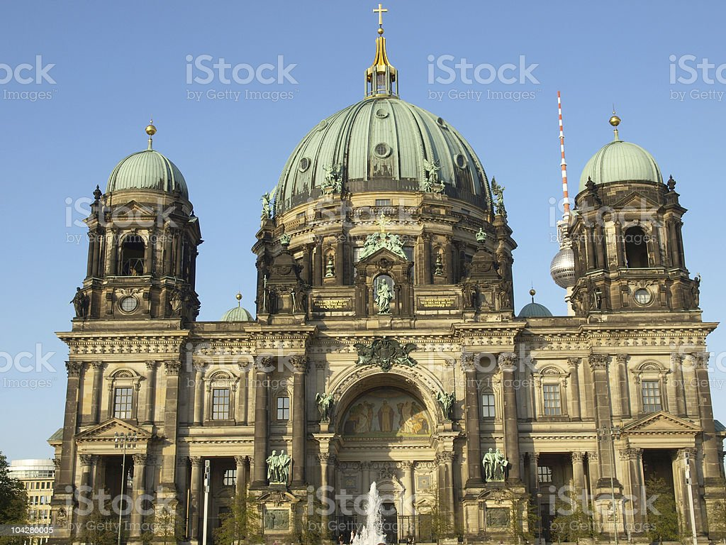 Berliner Dom royalty-free stock photo