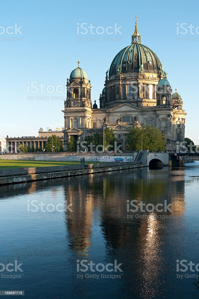 Berlin Cathedral (Berliner Dom) stock photo