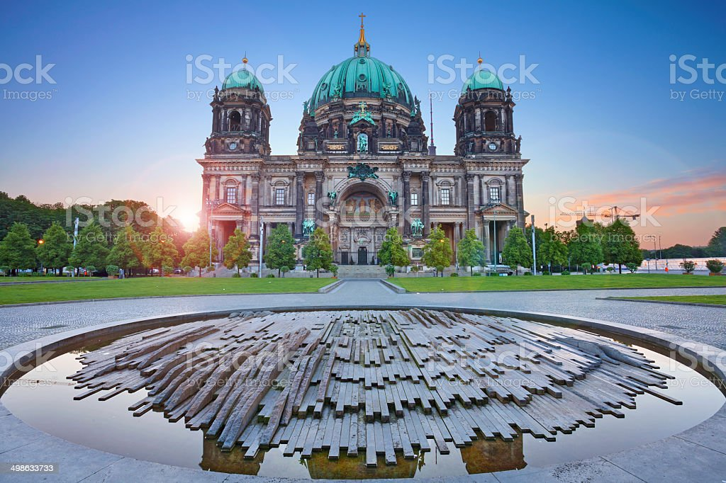 Berlin Cathedral. stock photo