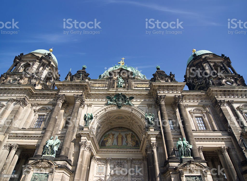 Berlin Cathedral royalty-free stock photo