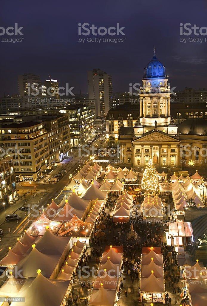 berlin christmas market royalty-free stock photo